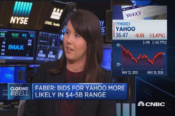 $2B too low for Yahoo?