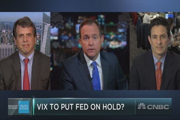 Can market volatility stop a Fed rate hike?
