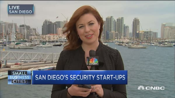 San Diego's security start-ups