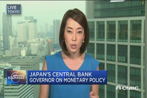 BOJ's Kuroda: Levers to pull to hit inflation target