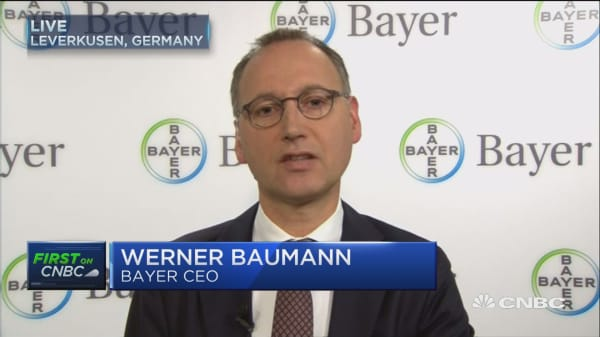 Haven't heard from Monsanto yet: Bayer CEO