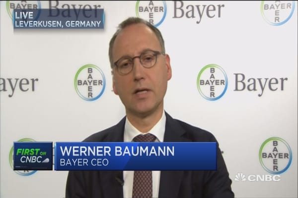 Monsanto deal stands on its own merits: Bayer CEO