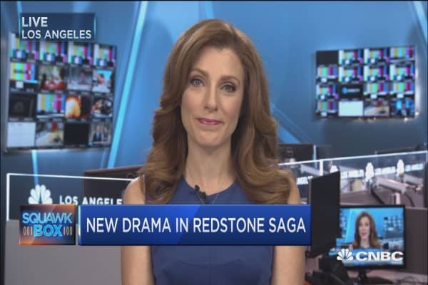 Battle heats up for Redstone's empire