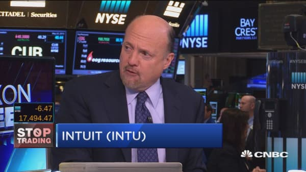 Cramer's Stop Trading: Intuit