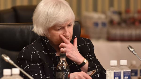 Janet Yellen, chair of the Federal Reserve.