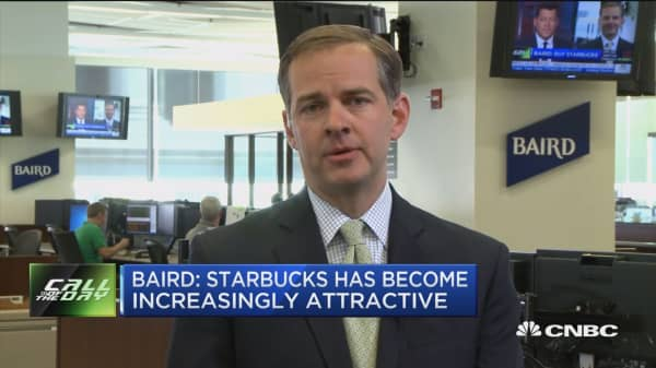 Call of the day: Starbucks