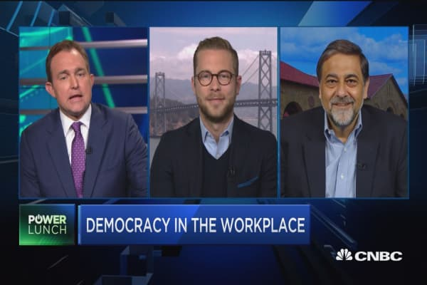 Democracy in the workplace
