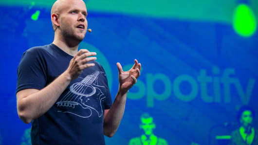 Daniel Ek, CEO and Founder of Spotify