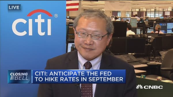 Anticipate the Fed to hike rates in September: Citigroup