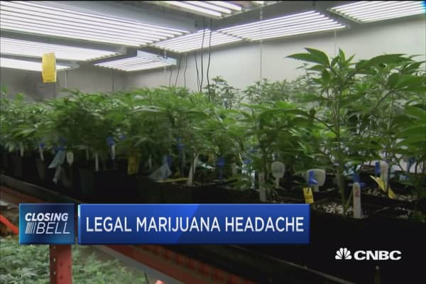 Legal marijuana headache