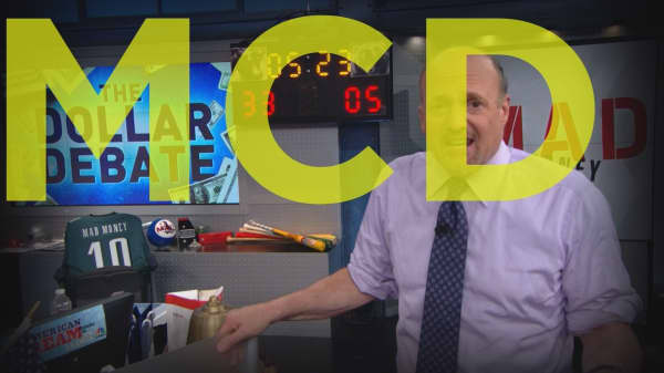 Cramer Remix: Why McDonald's stock is getting pummeled