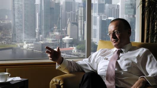 Hanspeter Brunner, former head of Asia for BSI Bank