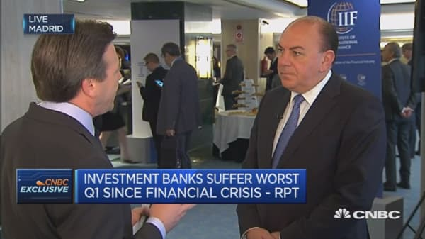 Markets are still difficult: UBS chairman