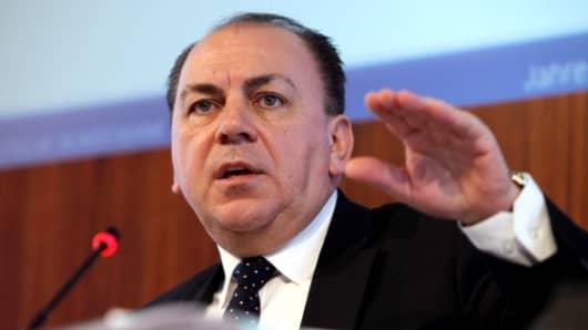 UBS Chairman Axel Weber