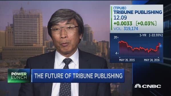 Tribune's new big shareholder