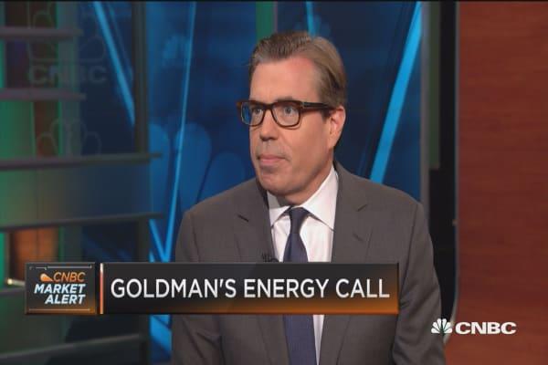 Goldman's energy outlook