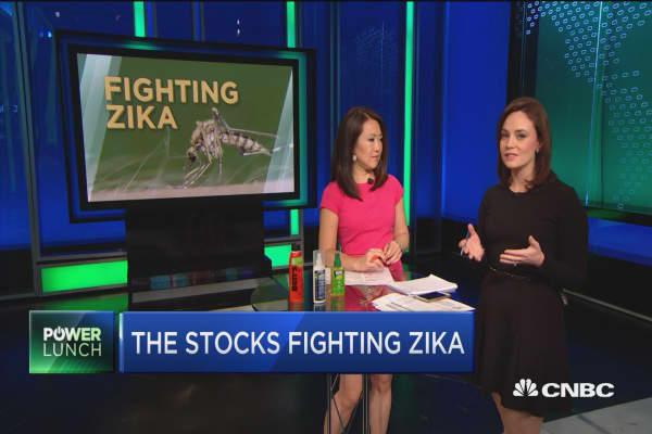 The stocks fighting Zika