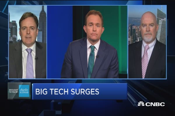 Trading Nation: Big tech surges