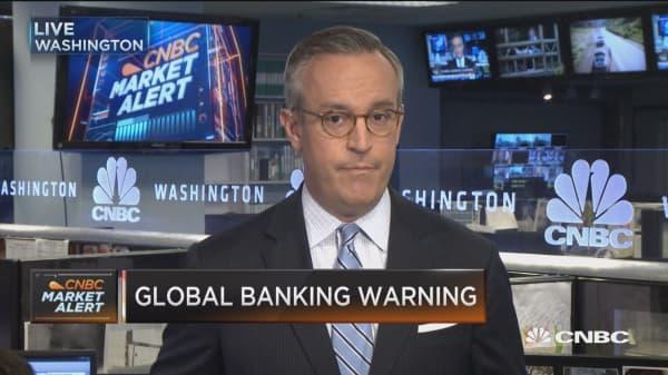 Global banking warning