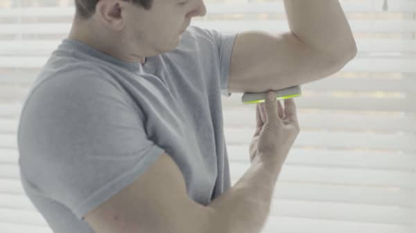 A device that tells you if your work out is working