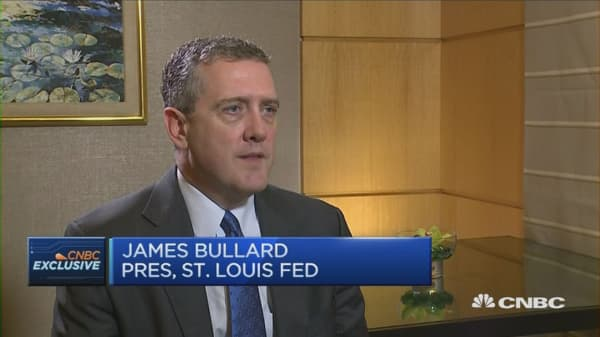 CNBC Exclusive: James Bullard