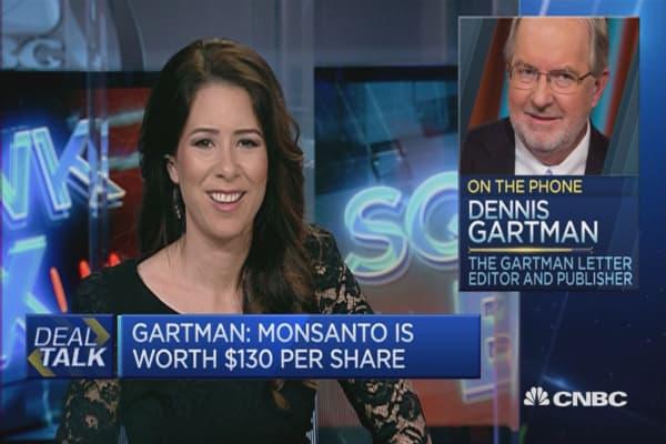 Monsanto worth $130 per share: Expert