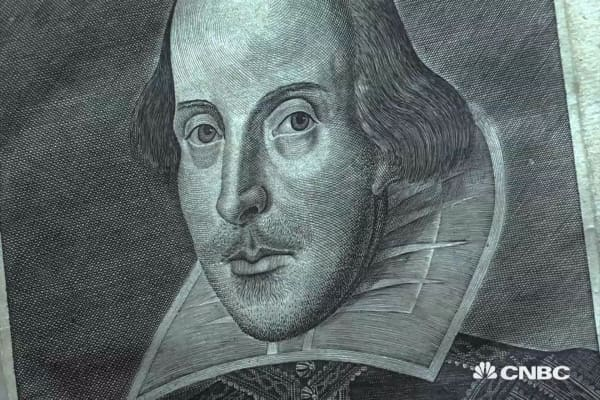 Rare Shakespeare folios for sale