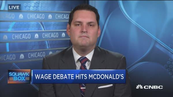 McDonald's robots threat 'overblown': Pro
