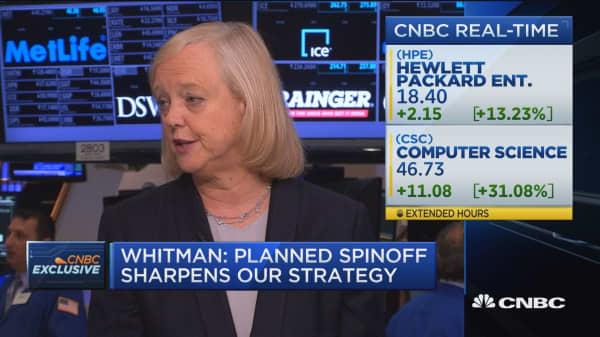 Whitman: CSC deal creates more efficient unit