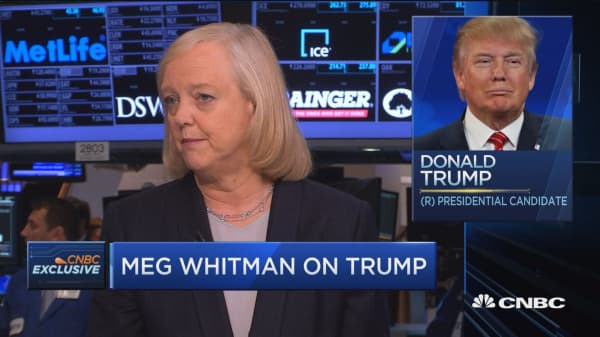 Whitman: I will not support Donald Trump