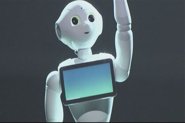 Pepper the robot lands a job at Pizza Hut