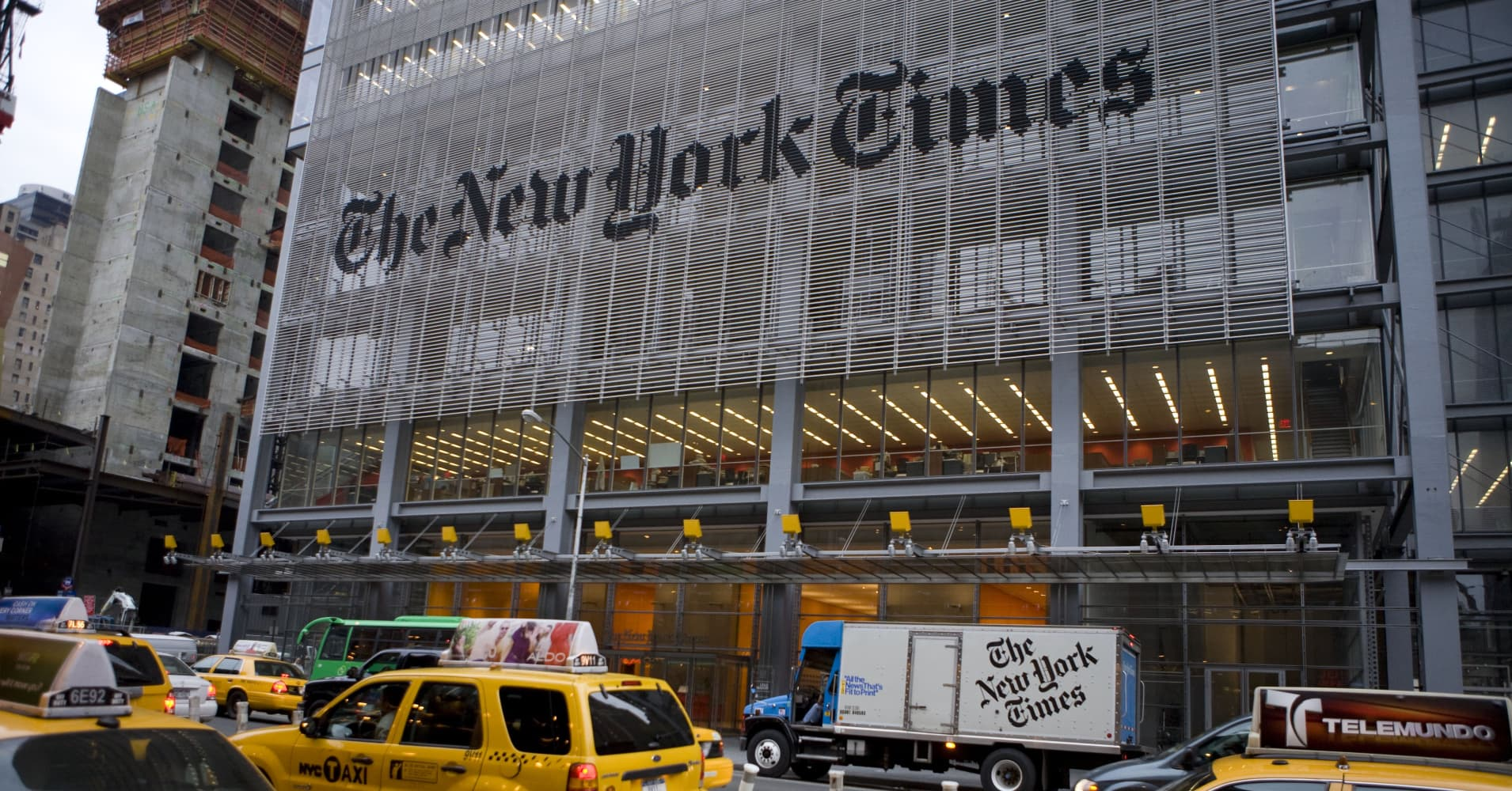 Billionaires are buying media companies, New York Times not for sale