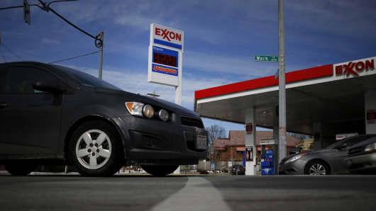 Exxon Mobil Gas Station