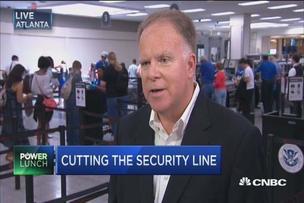 Cutting the security line