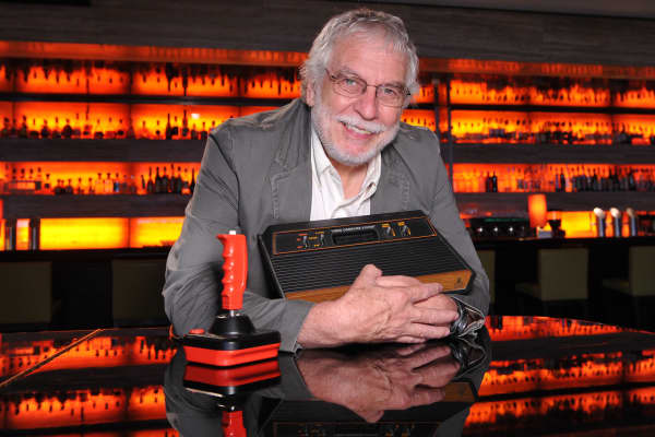 Nolan Bushnell, founder of Atari, Chuck E. Cheese's and several other ventures, photographed here in 2010.