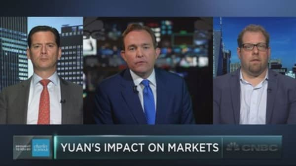 Is China's currency driving the world's markets?