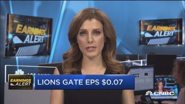 Lions Gate shares shoot higher on beat