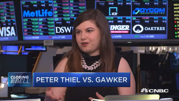 Rumors behind Peter Thiel vs. Gawker
