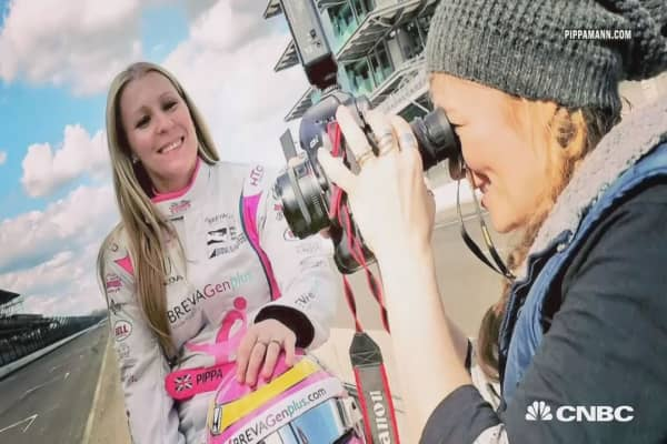 Pippa Mann in the Fast Lane
