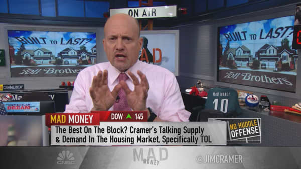 Cramer: Housing just made the breakout move I've been waiting for