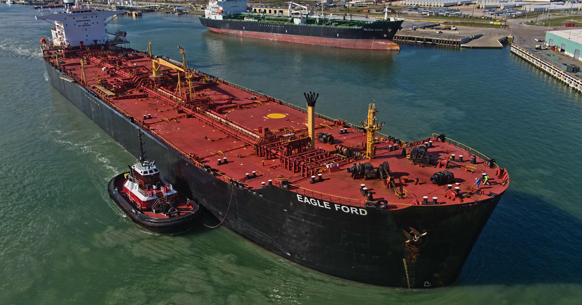 US oil heads to China, but it's too early to declare victory in the trade war