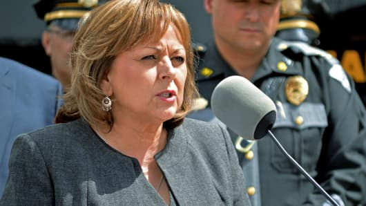 New Mexico Gov. Susana Martinez