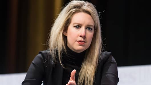 Founder & CEO of Theranos Elizabeth Holmes