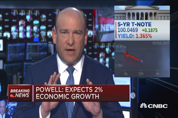 Powell: Rate hike looking appropriate 'fairly soon'