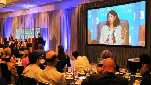 The Churchill Club's 18th annual tech trends dinner in Santa Clara, California.
