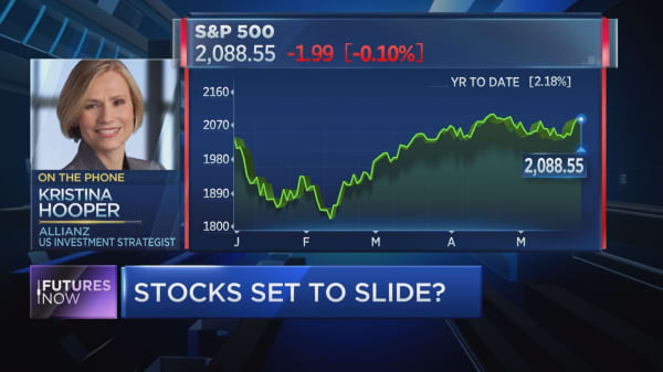 Stocks to rally up to Fed meeting: Allianz's Hooper