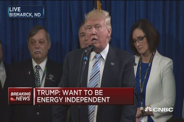Trump: We will make so much money from energy