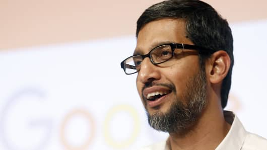 Sundar Pichai, CEO of Google