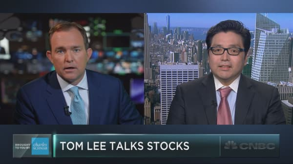 Tom Lee: High yield rally holds key to market rise