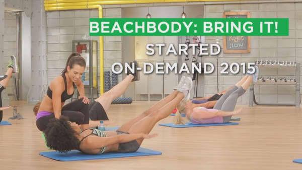 Fitness on-demand